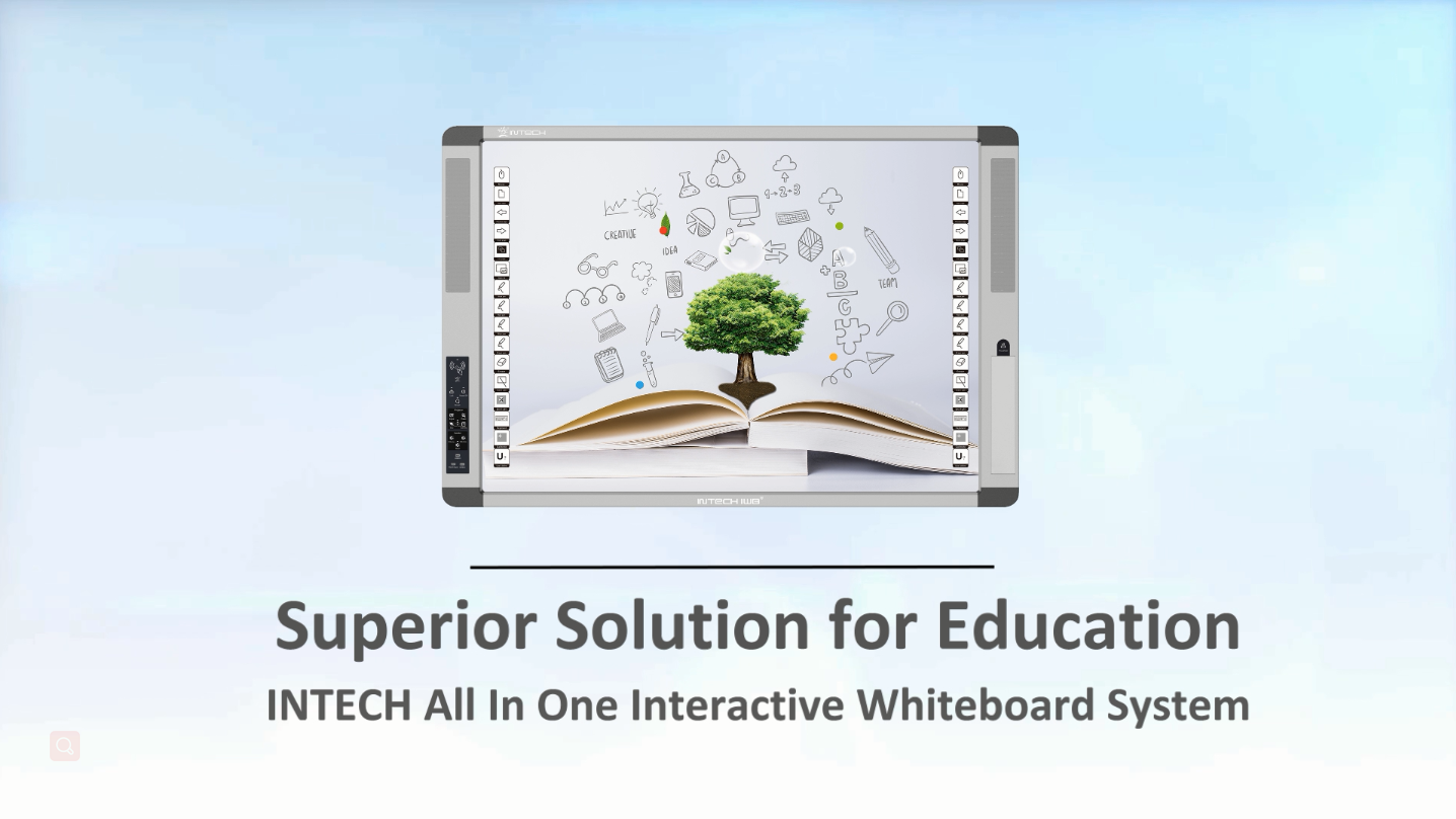 INTECH All In One Interactive Whiteboard System Demo