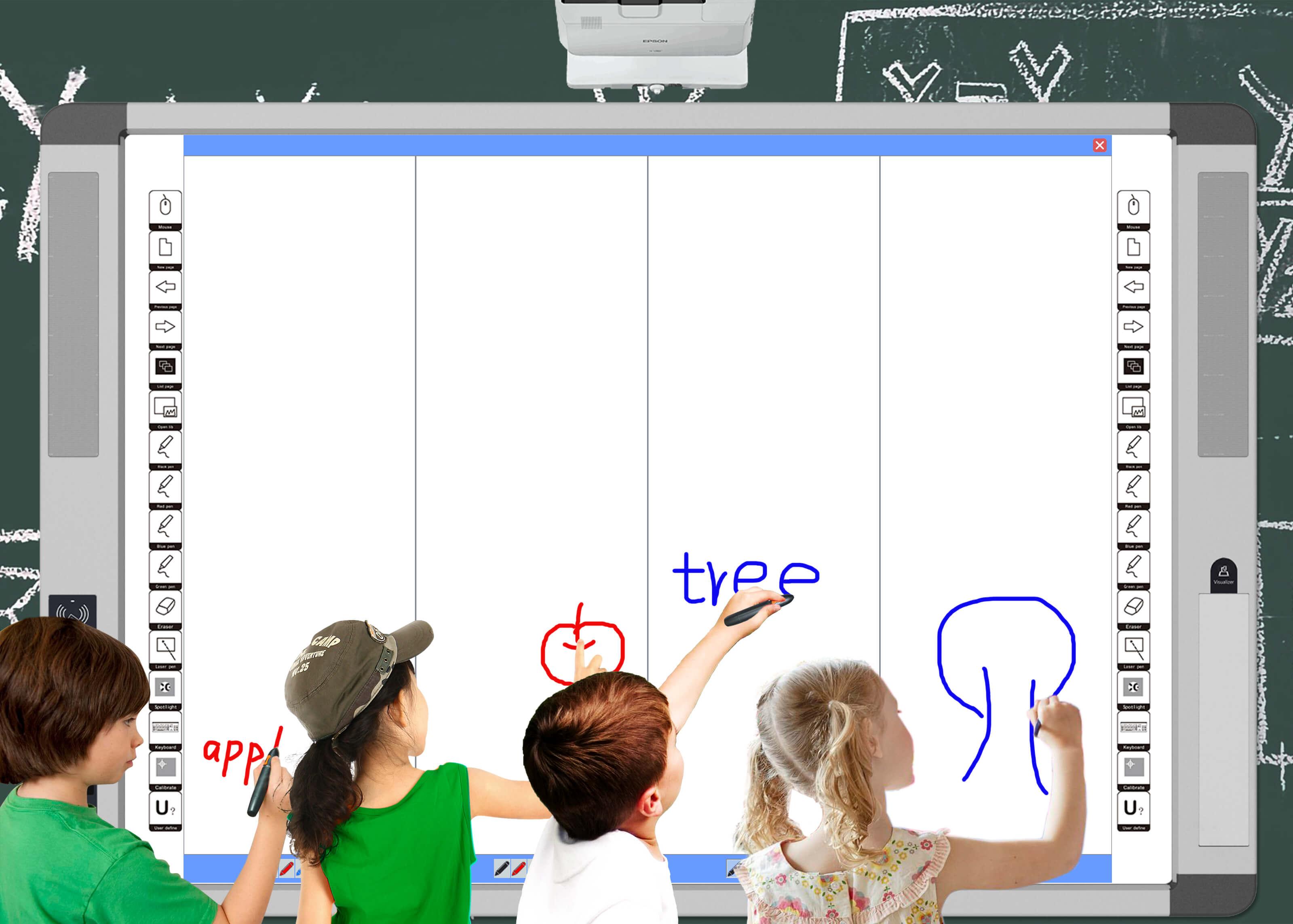 Split Screen of Intech V5.0