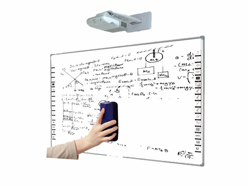 interactive whiteboard with PolyVision ceramic e3 surface