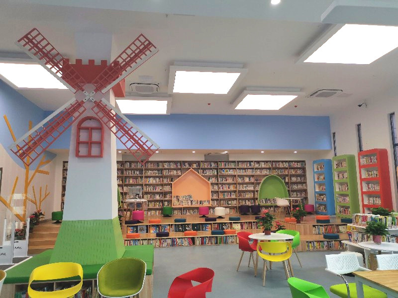 Intech 24h Self-service Reading Room Solution in Nanjing Lishui Jingji Kaifa Qu Primary School