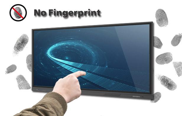 anti fingerprint interactive touch panel