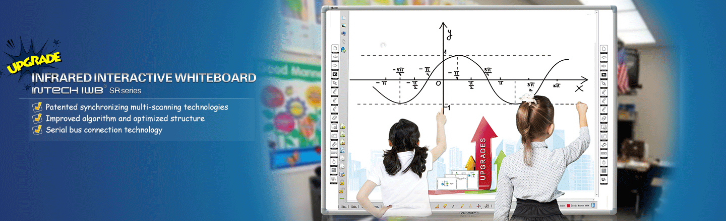 Infrared Interactive Whiteboard-Optimized Structure(SR)