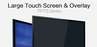 Large Touch Screen & Overlay