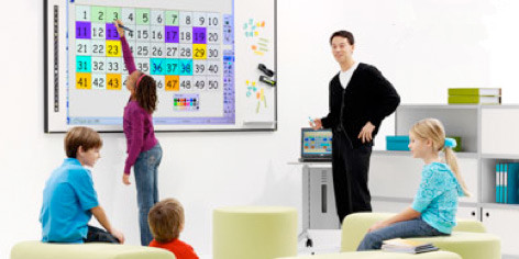 Interactive displays have been widely used in the educational world