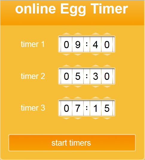 Use Online egg timer on Your Electric Whiteboard to Manage Time in the Classroom