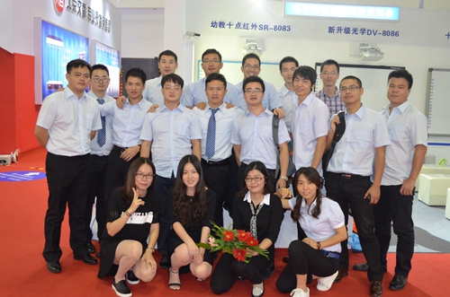 Mrs. Fan attended The 69th China Educational Equipment Industry Exhibition, together with other guys from Xiamen Intech