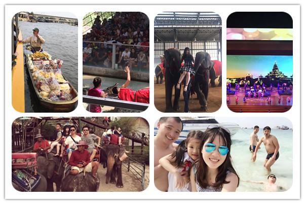 Intech staff went sightseeing on Bangkok and Pattaya