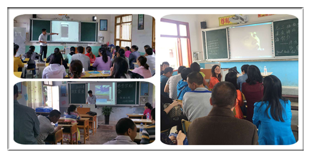 Teachers are interested in interactive whiteboard