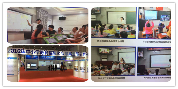 Case study on using informationization in the field of education.