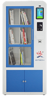 Intech smart book cabinet