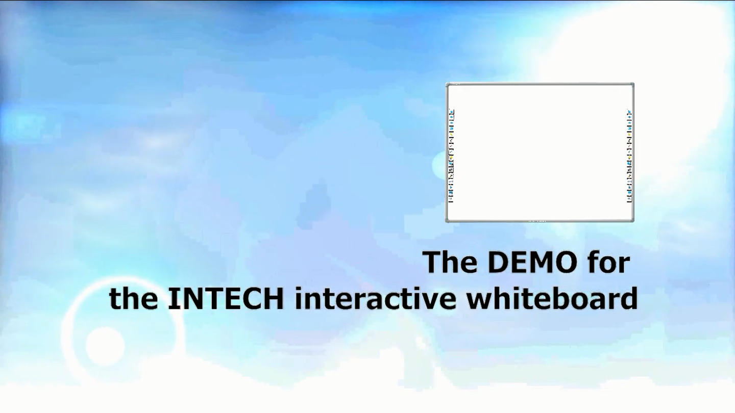 INTECH Interactive Whiteboard Software Demo