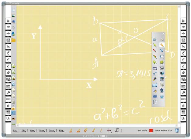 INTECH Infrared Interactive Whiteboard RD80A