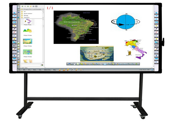 Electromagnetic Interactive Whiteboard - 2 Users (M)